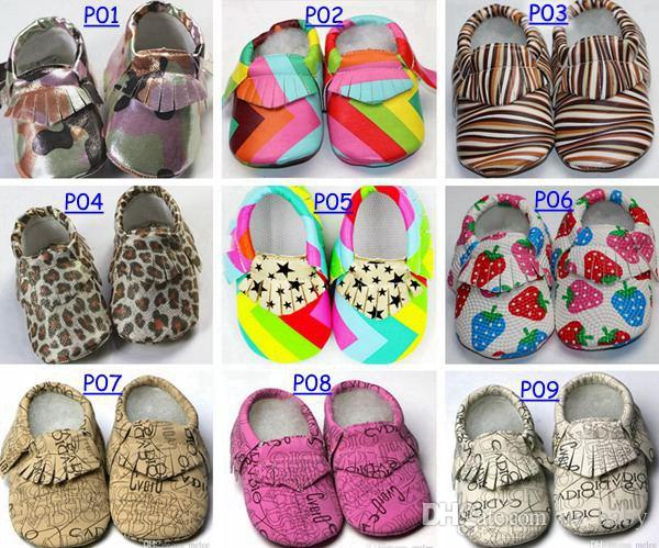 free ship Baby First Walker moccs infant moccasins soft sole moccs PU leather camo leopard Zebra prewalker booties toddlers PU leather shoes