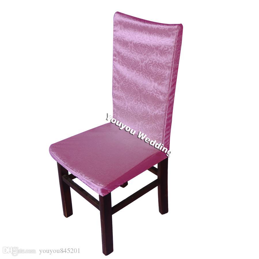 선택의 여지가 11 색상 - 210GSM 두꺼운 자카드 다람쥐 의자 커버 무료 배송 웨딩 장식 사용