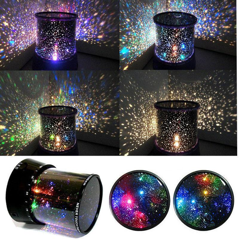 2017 Amazing Led Sky Star Master Projector Cosmos Space Flashing