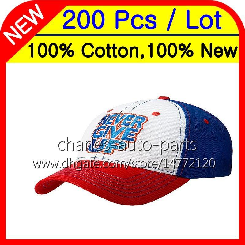 es 200 unids 100% algodón nuevos gorras de béisbol verde gorra de béisbol gorras azul rojo 100% nueva alta calidad libre personalizada fábrica onlie store