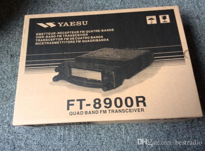 Cyfrowy samochód radio Yaesu FT-8900R Quad Band Dual Disceiver 50W 29/50/144 MHz Radio 35 W 430 MHz