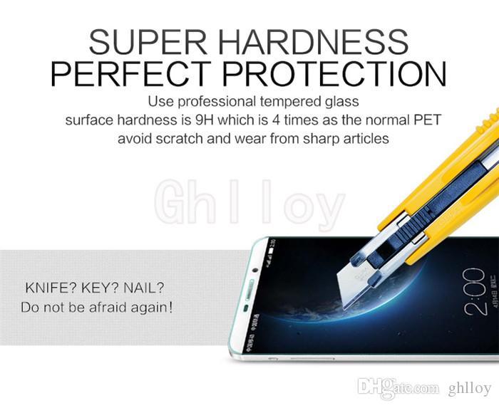 Para Letv Le1 / Lepro / Max Protectores de pantalla de vidrio templado Con paquete minorista 2.5D 0.26MM 9H Anti-Scratch Anti-Glare Buena calidad