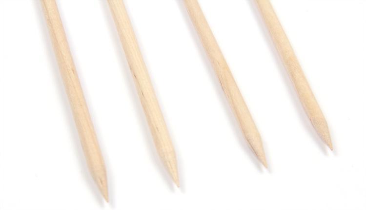 Бесплатная доставка! 100шт/комплект ногтей оранжевый дерево палку кутикулы толкатель для удаления
