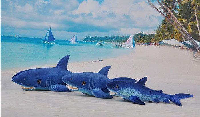 Giant Plush Shark - Interior Design