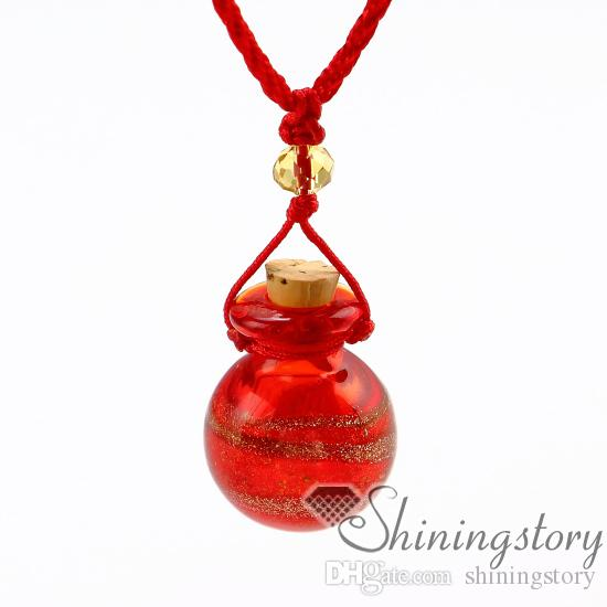 essential oil necklace diffuser jewelry perfume necklaces diffuser pendants wholesale small perfume bottles