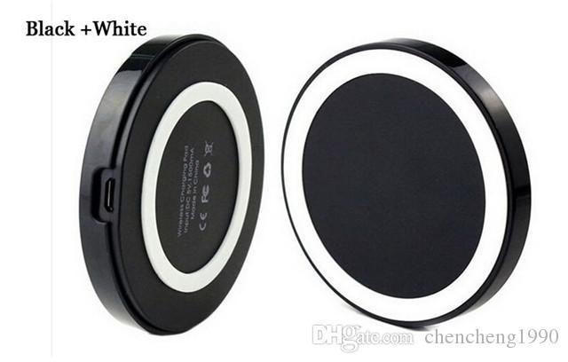Con caricatore wireless caricabatterie ricaricabile di vendita al dettaglio QI Samsung Galaxy S3 S4 S5 HTC Nokia LG IOS Android universale