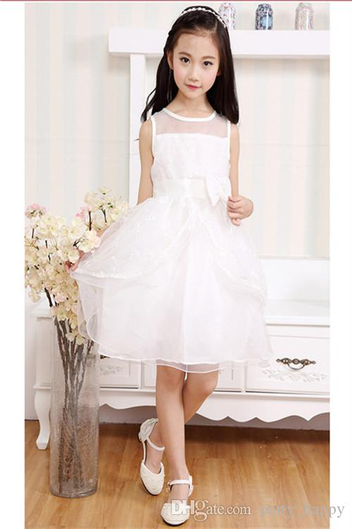 Children's Wear Princess Dress Marriage Gauze Skirt Of Bitter Fleabane Bitter Fleabane Skirt /Children Dance Skirt Flower Girl Dress