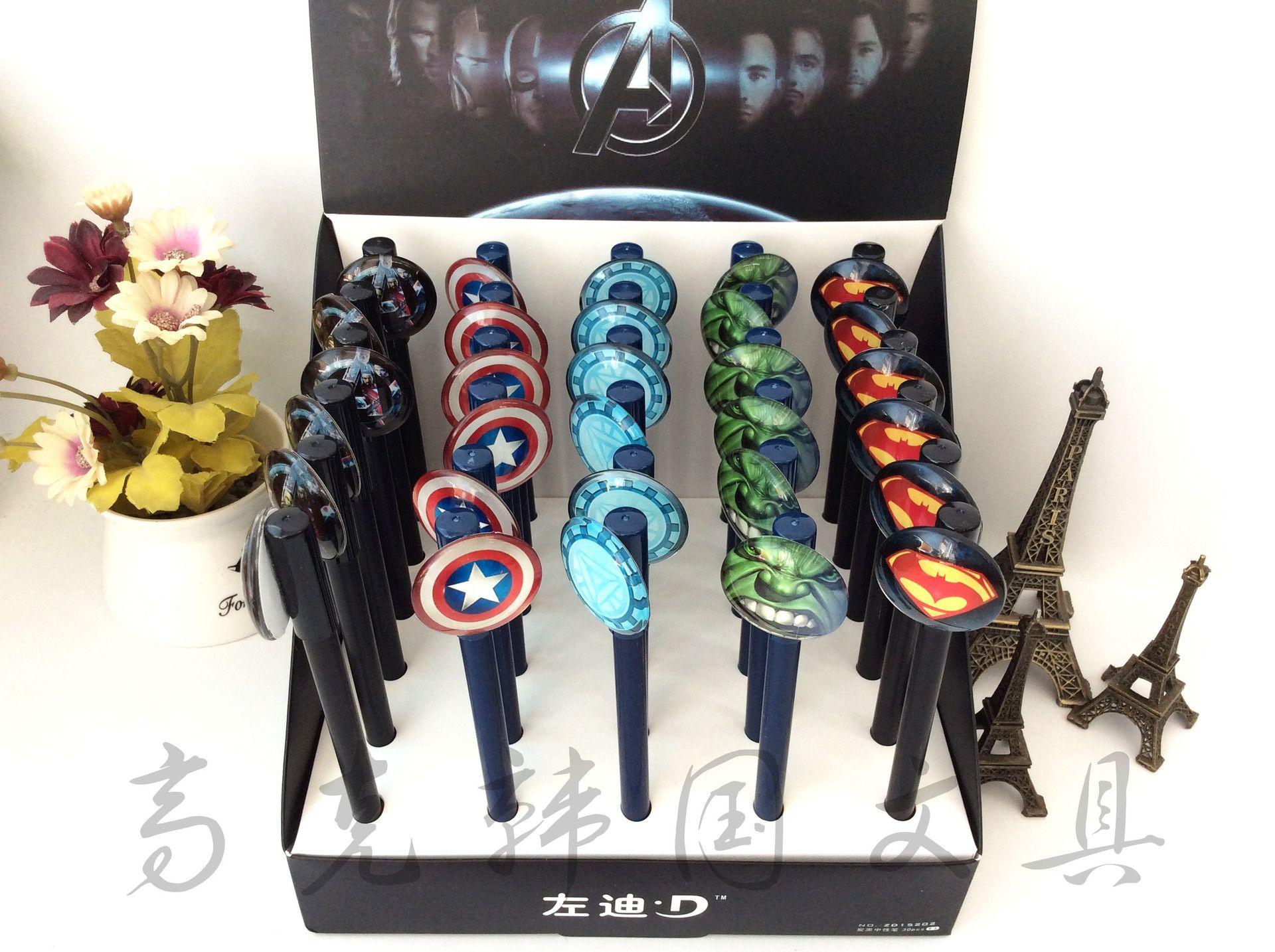 Shop Gel Pens Online, Avengers Gel Pens Cartoon Batman Superman Gel Pen  Stationery Novelty Gift Office Pens Super Hero Cartoons Pen Kawaii School  Supplies .