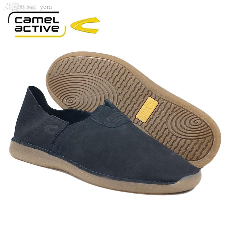 Wholesale Fashion Camel Active.Casual Shoes Made In Italy Comfortable  Unisex Loafers Shoes Fall Round Ended Rough Leather Shoes Women Men Loafers  For Men ...
