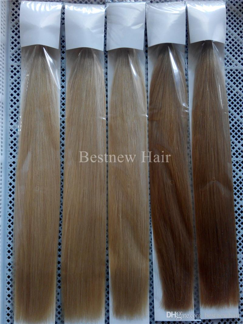 """18""""20""""22""""Nano Rings INDIAN REMY Human Hair Extensions 100g/pk 100beads 1g/s Color #60 Nano Tip INDIAN Remy Hair Nano Rings Hair Extensions"""