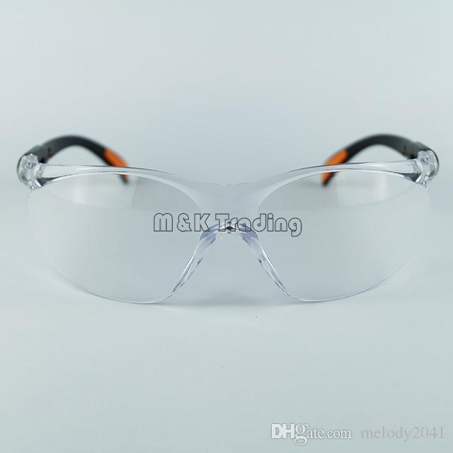 مستلزمات السلامة في مكان العمل نظارات السلامة نظارات واقية من الغبار عيون Protetion جهاز حماية العمال شفاف أبيض وأسود