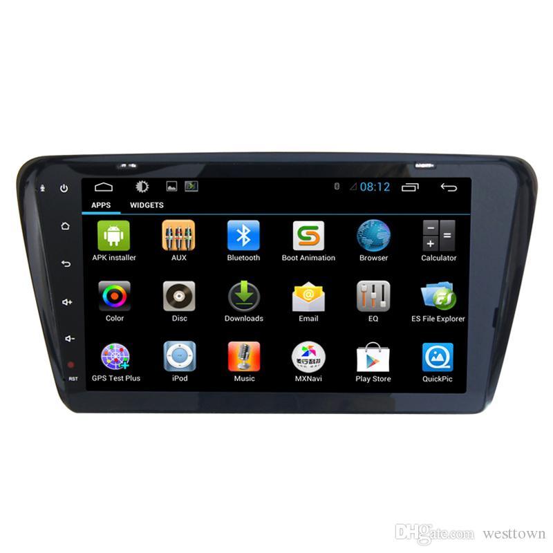 Android Multimedia central 2 Din Car DVD Radio GPS para Skoda Octavia A7 con Quad Core GPS Bluetooth estéreo RDS FM