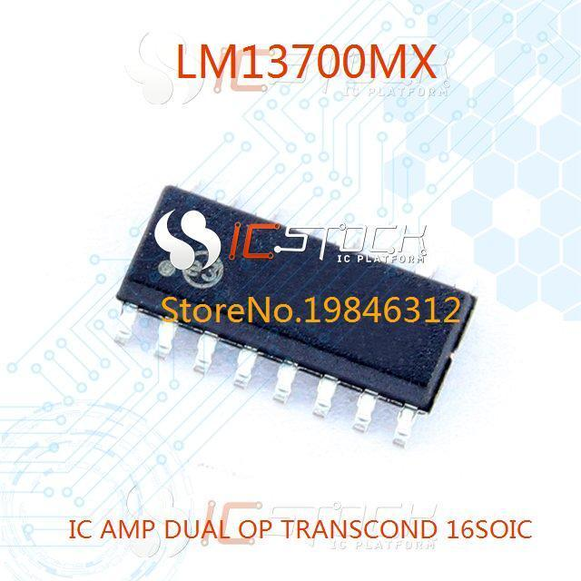 LM13700MX IC AMP DUAL OP TRANSCOND 16SOIC 13700 LM13700 10pcs