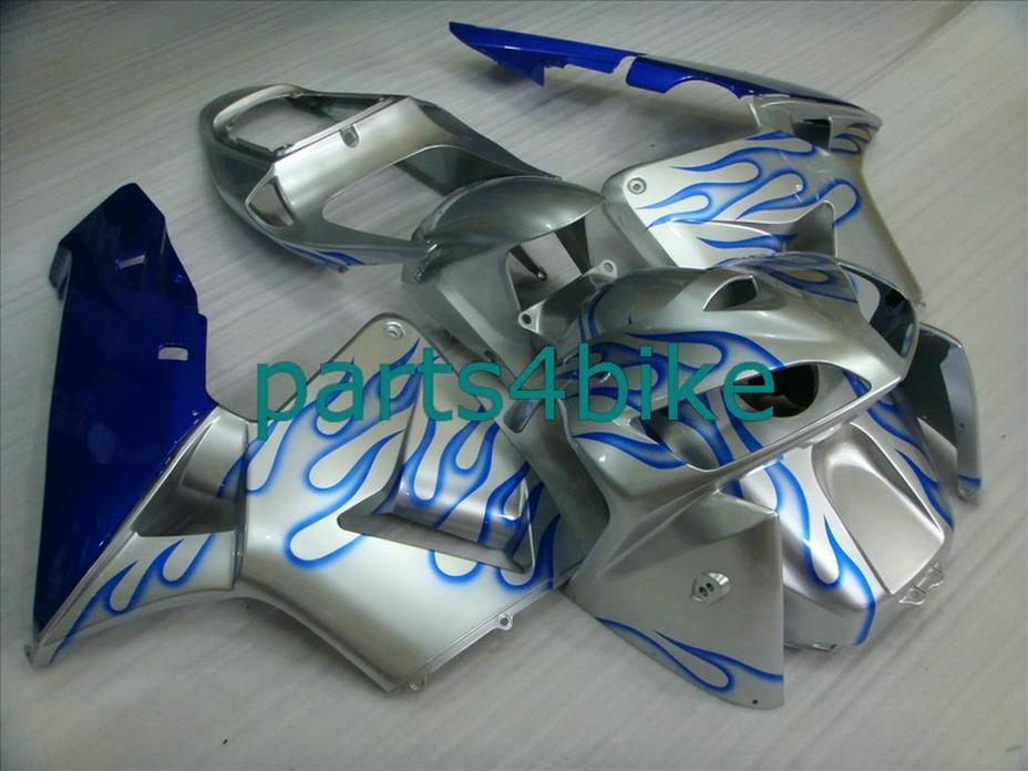 Kit de careta azul plateado para carenado Honda CBR600RR 2003 2006 kit de carenado CBR 600RR 03 04 CBR 600 RR CPWD