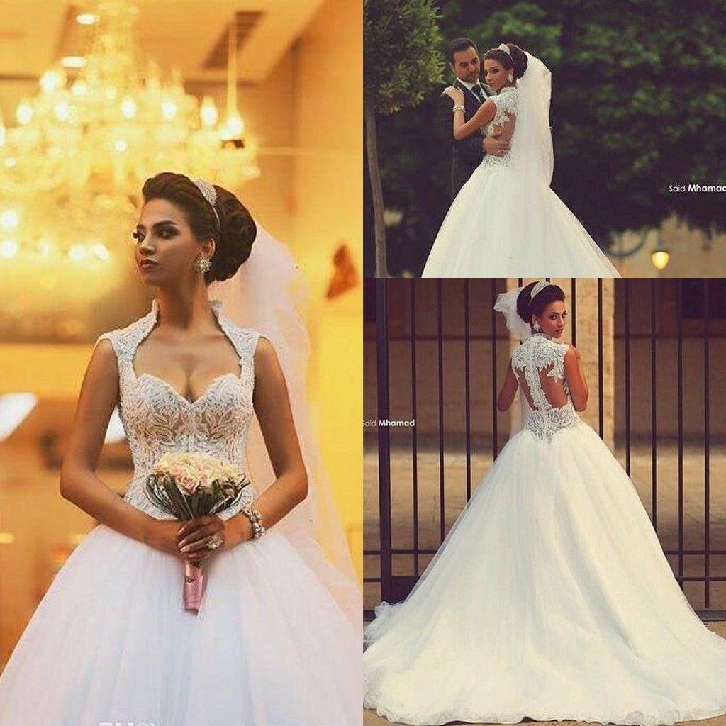 be98b5775636 2018 Sweetheart Saudi Arabic Backless Winter Wedding Dresses Zipper Back  Appliques Beaded Bodice Sheer Ball Gown Organza Bridal Gowns Cheap Wedding  Dress ...