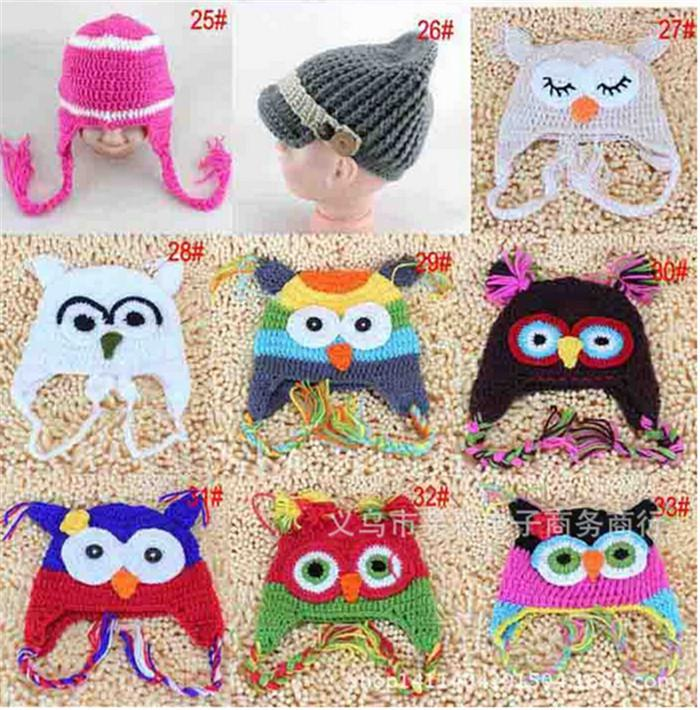 2019 Best Price 33 Designs Popular Baby Winter Cap Children Crochet Hats  Knitted Animal Cap Baby Owl Hats Beanie Hat Earmuffs Cap D402 From  Babyxu123 220d134e1c9e