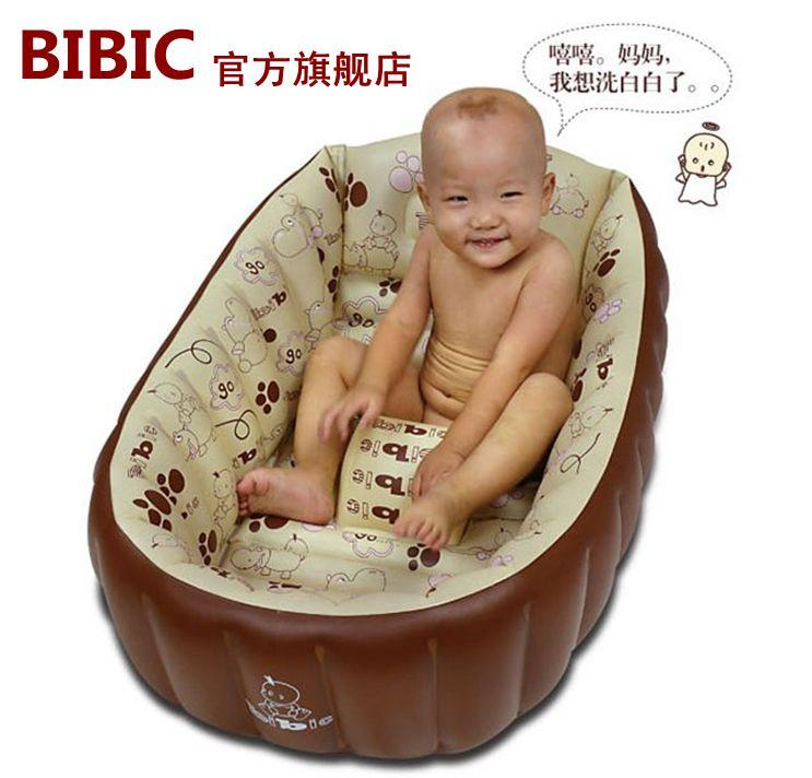 2018 Ploughboys Newborn Baby Bathtub Infant Bibic Baby Inflatable ...