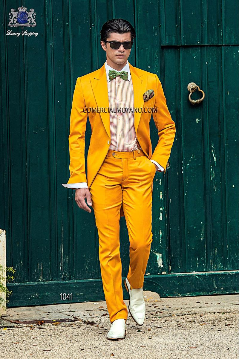 2015 Italian Suits Gold Mens Suits Jacket Pants Tie Formal Suits ...