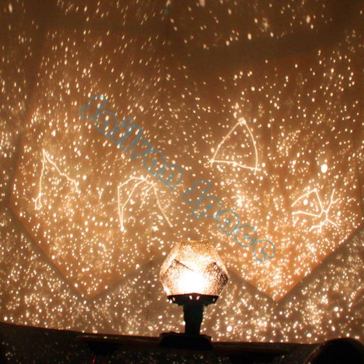 2014 New Arival Amazing Flashing Sky Star Master Night Light Lovely Sky  Starry Star Projector Novelty Gifts b14 SV001487