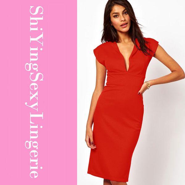 Vestidos De Fiesta Women Pencil Dresses New Fashion Cheap Elegant ...