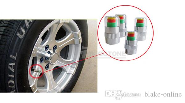 Car Auto Pressure Monitor Accurate Display Tire Valve Stem Caps 2.0/2.2/2.4/2.6 Bar Sensor Indicator