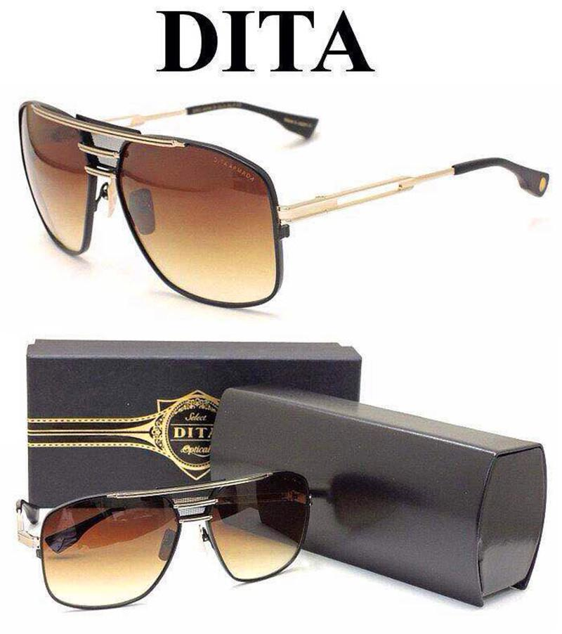 56f3f724a90 Dita Sunglasses New Dita Armada Retro Sunglasses Women Brand Designer Metal  Model Eyeglass Online with  87.72 Piece on Shop-to-shop s Store