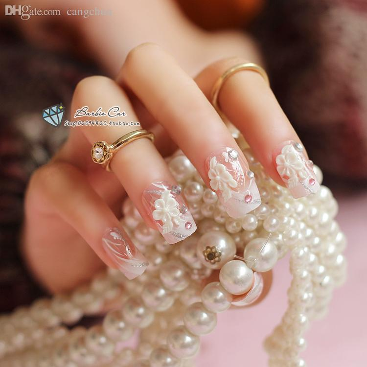 Wholesale 2015 products vexed vicious medium length nail keenail wholesale 2015 products vexed vicious medium length nail keenail nail art pre design acrylic fake french nails long crux rhinesto false nails advice plain freerunsca
