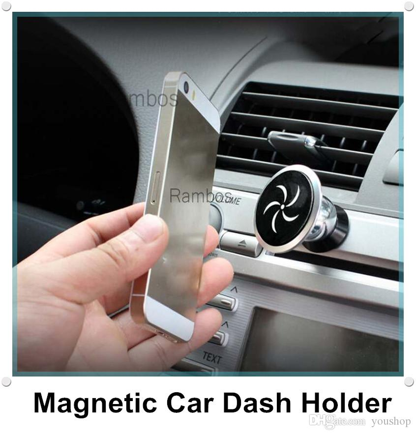 Magnetic Cell Phone Mount >> 360 Magnetic Mobile Cell Phone Car Mount Holder Stand Cradle For Iphone For Samsung Gps Smartphone