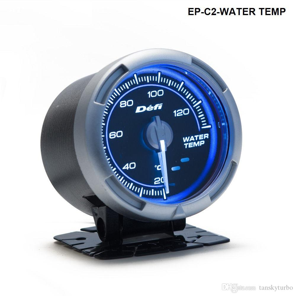 Tansky -- 60 mm cars universal meter / gauge DF Link Meter ADVANCE C2 Water  Temperature Gauge Blue TK-C2-WATER TEMP