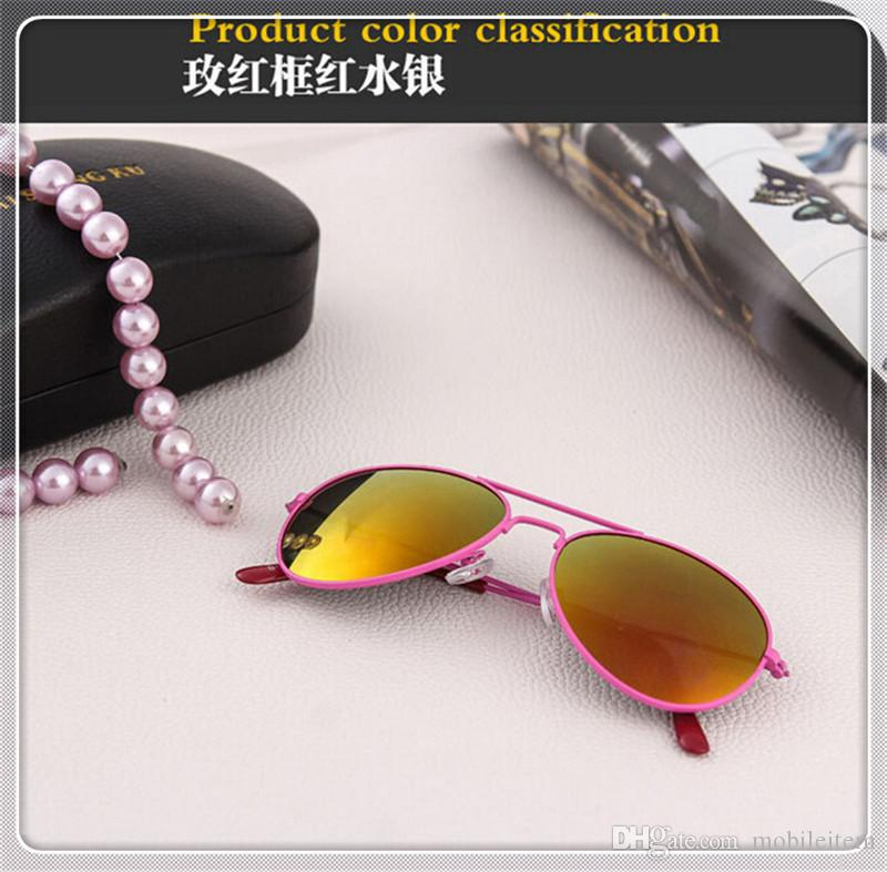 Kids Sunglass Children Beach Supplies Sunglasses Childrens Fashion Accessories Sunscreen baby for boys Girls awning kids Glasses