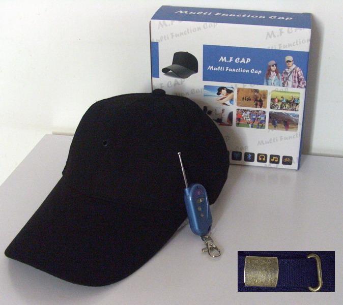 baseball cap camera clip mount video spy hidden