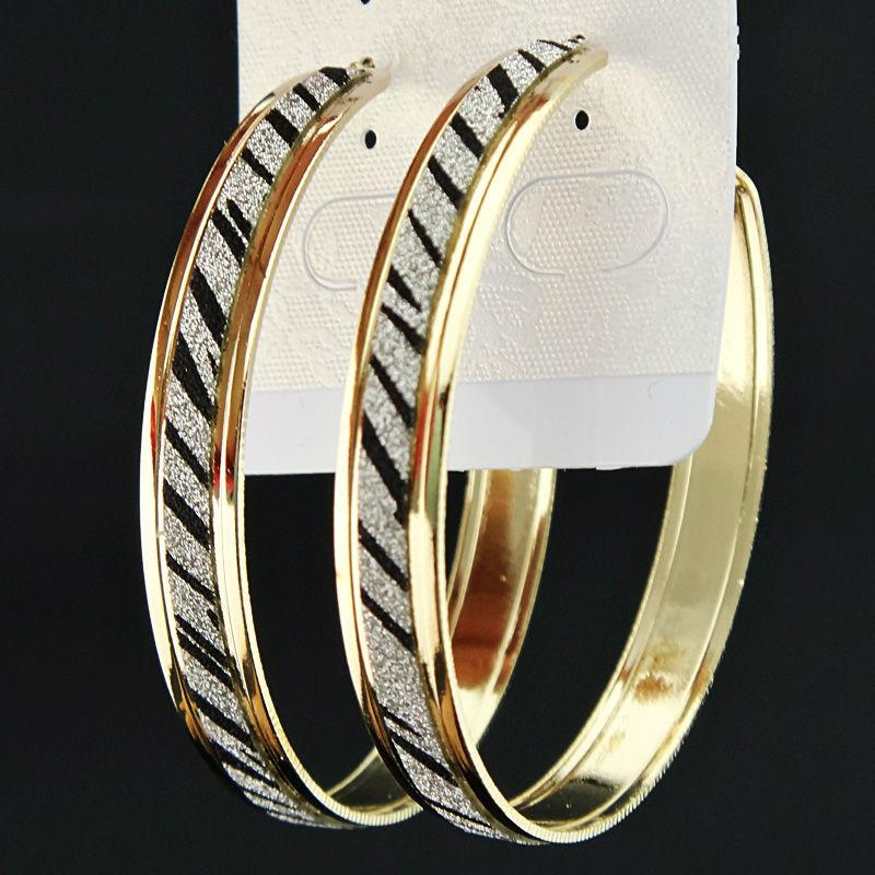 a376f844339 Wholesale- Fashion Hot Sale Frosted Gold Zebra Printed Women Big ...