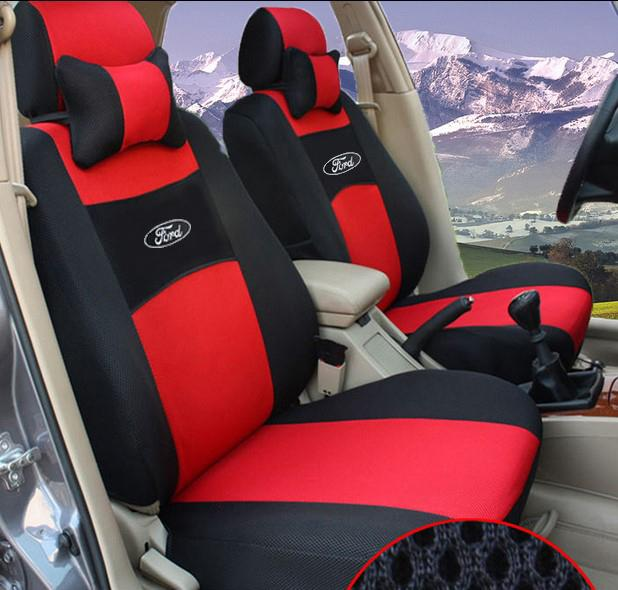 HOT Material Universal Car Seat Cover Focu S M Ondeo Kuga Explorer EcoBoost EcoSport ESCORT Sticker Accessories Covers For Baby