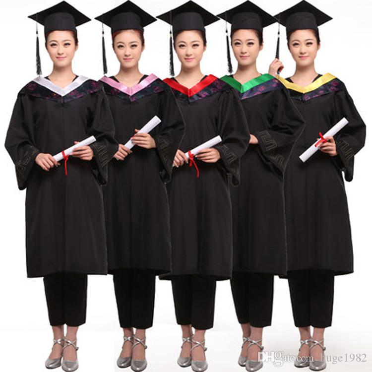2017 Women Master S Degree Gown Bachelor Costume And Cap University