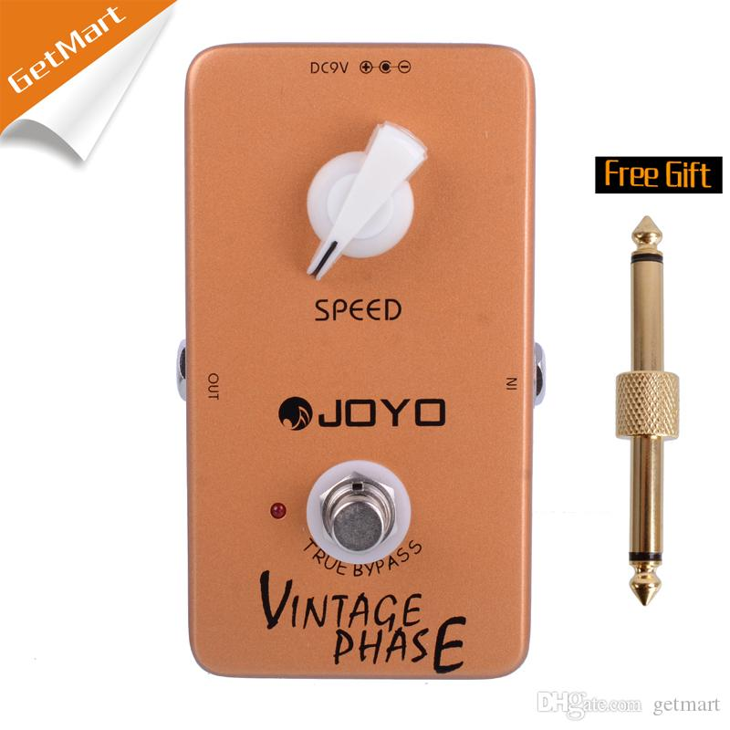 Joyo JF-06 Vintage Phase guitar pedal and a modern take on a timeless rock classic pedal