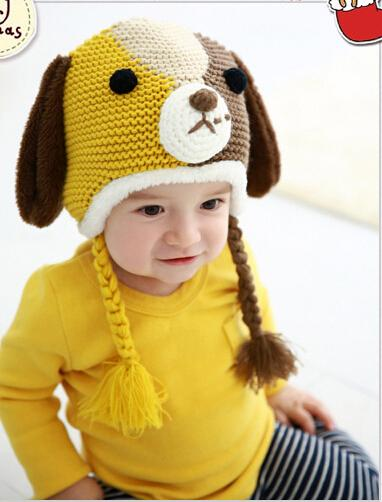 5 Mix Colors Children Little Baby Animal Knit Cartoon Hats Animal Styles  Dogs Hat Toddler Hat Kids Winter Wool Cap UK 2019 From Masterxiang fd53798c789