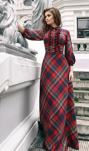 Plaid Christmas dresses are a holiday classic and our festive tartan dress for women will make spirits bright in pure cotton with button dexterminduwi.ga: $