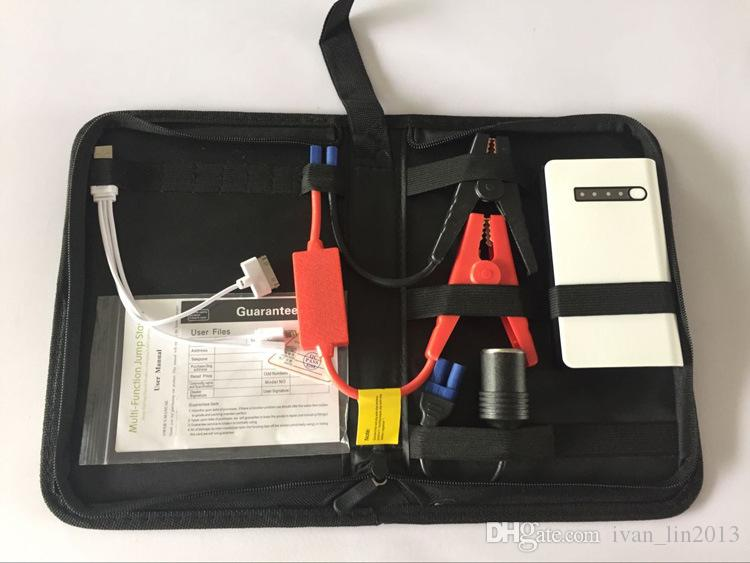 10000mAh 12V Mini Car Jump Starter Emergency Starting Devicer Car Charger For Car Battery Booster Buster Diesel Petrol Portable Power Bank