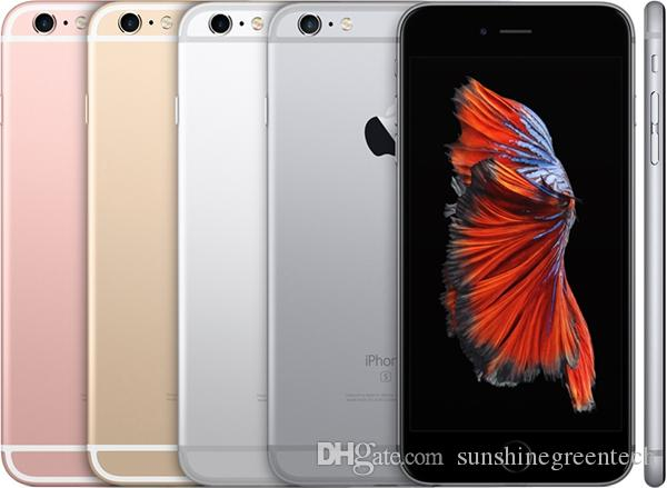 "100% Original Refurbished Apple iPhone 6S plus Cell Phones 16G 64G 128G IOS Rose Gold 4.7"" i6s Smartphone Wholesale China DHL free"