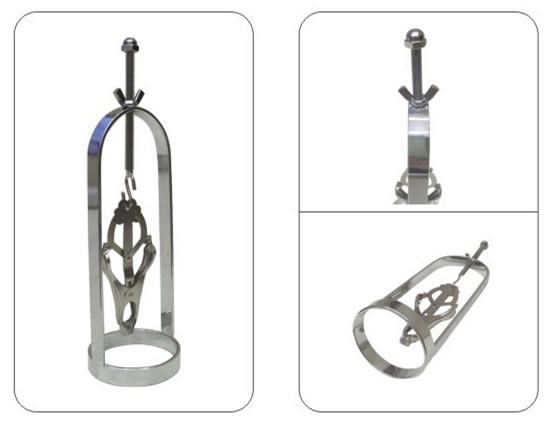 SM Nipple Clamps Clips Nipple Torture Tits Stretcher Breast Bondage Gear BDSM Sex Toys for Women NT021
