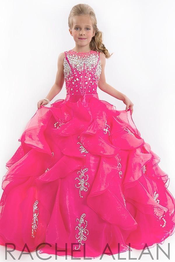 귀여운 glitz 작은 여자 미인트 드레스 어린이 공주 반짝이 무거운 파란색 어린이 꽃 소녀 드레스 자홍색 어린이 댄스 파티 드레스