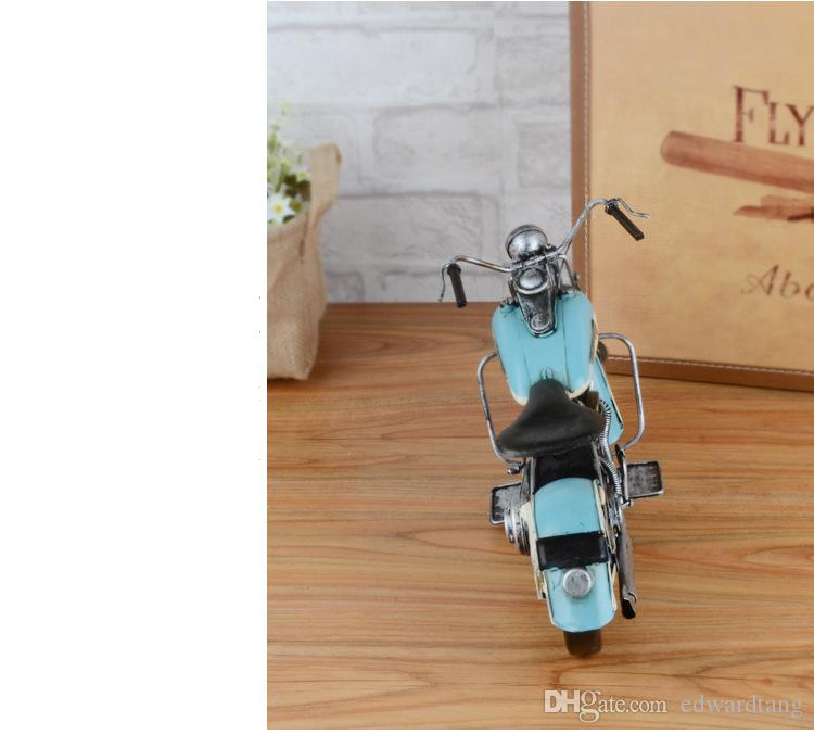 Vintage Style Motorcycle Model, Classic Harley Iron Motorcycle Model, Big Size, Personalized and Original Decoration, Gift, Collecting