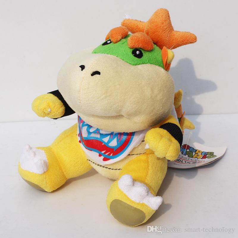 """Super Mario plush Toys Bowser JR Plush Doll 7"""""""