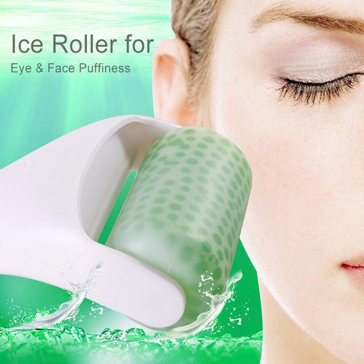 Ice Roller Skin Cool Derma Roller Massager for Face Body Massage Facial Skin Care Preventing Wrinkle Dermo Roller