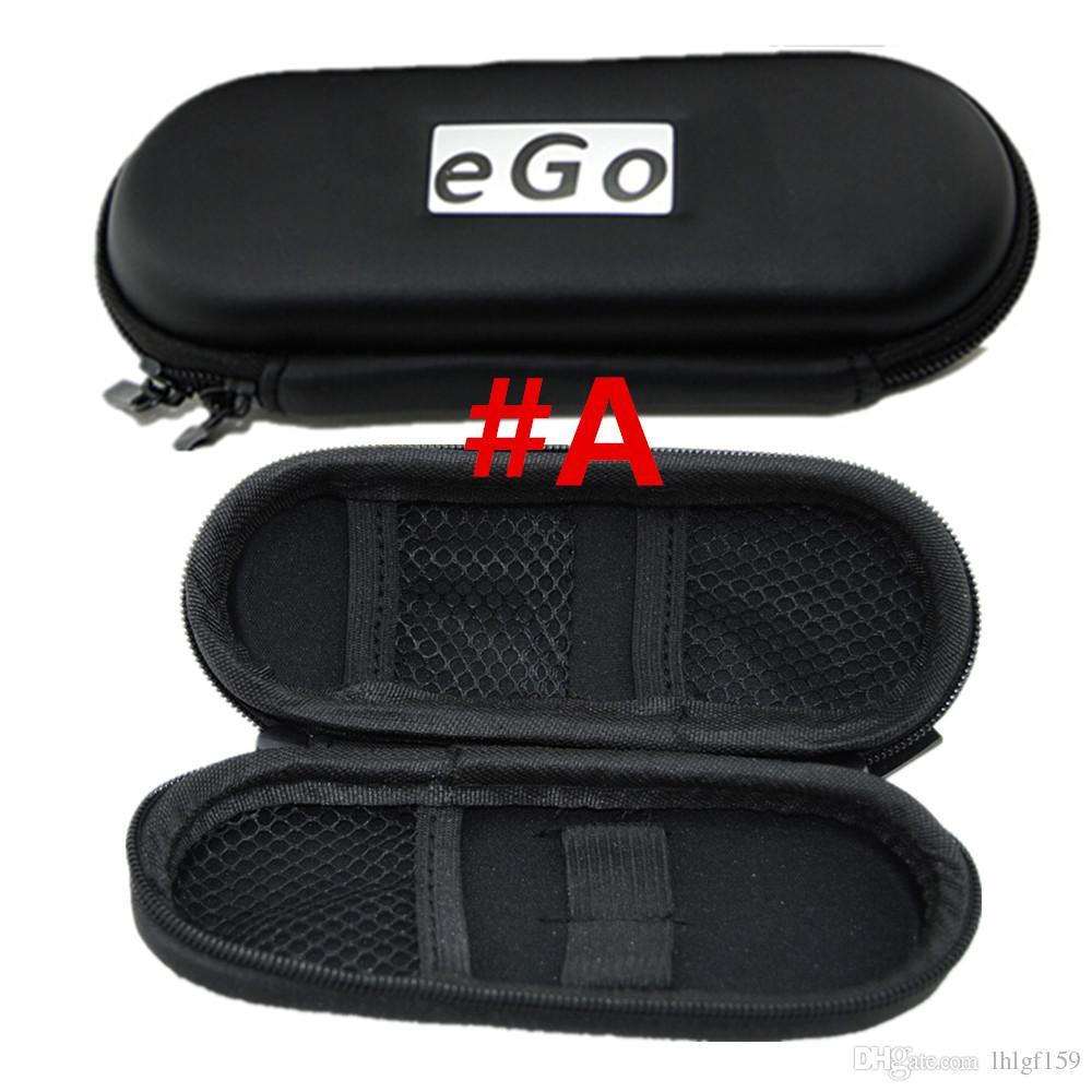 Colorful EGO Caso Zipper fabbrica di promozione di vendita la sigaretta elettronica Caso Kit Carry con EGO Logo Sacchi con vario colore trasporto libero