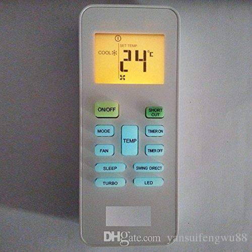 air conditioner remote control for carrier springer midea rg52b bge compatible with rg52b bgce. Black Bedroom Furniture Sets. Home Design Ideas