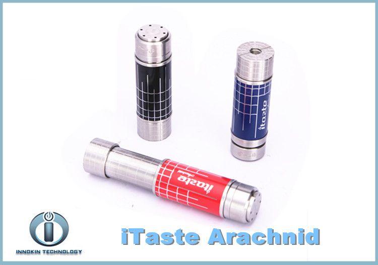 2015 Autentisk Innokin Itaste Arachnid Mechanical Mod 18350 18500 18650 Batteri Arachnid Teleskoprör Batteri Fri frakt
