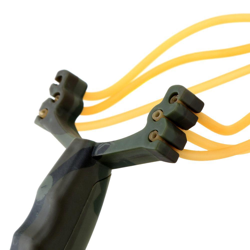 뜨거운 야외 강력한 슬링 샷 접는 손목 성인 슬링 샷 위장 사냥 슬링 샷 대리석 게임 투석기 사냥 명령 $ 18no tra