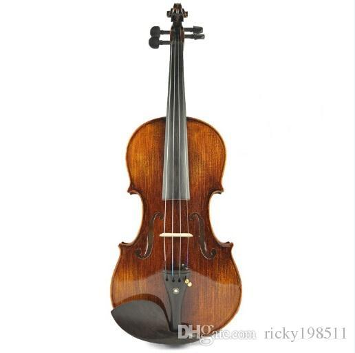 New Arrival High Grade Master Natural Tiger Strip Violin, Antique Oil Varnish Handmade ViolinTYHGV0028