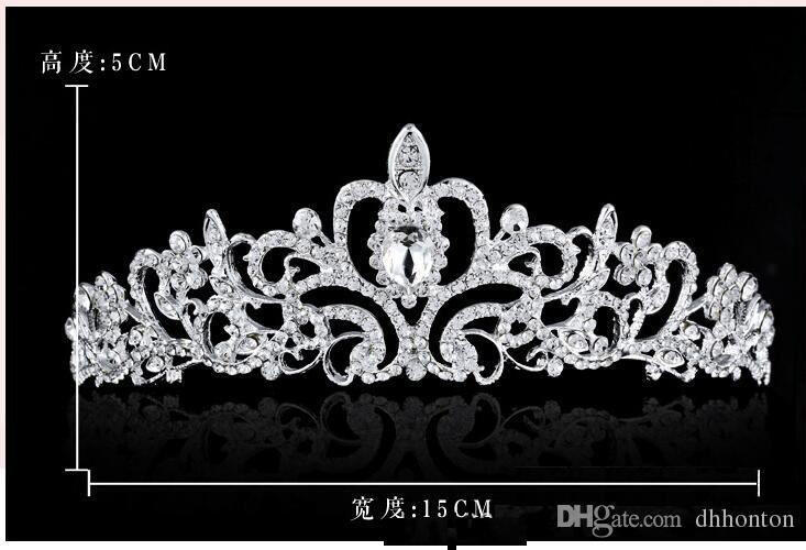couronnes d'oiseaux Nouveaux bandeaux Bandeaux pour les cheveux Chapeaux Robes de mariée Mariage Bijoux Accessoires Argent Cristaux Strass Perles HT06